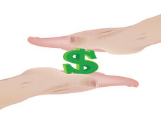 Pressure currency Royalty Free Stock Image