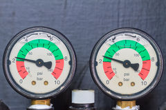 Pressure gage Stock Images