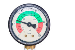 Pressure gage Stock Image