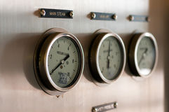 Pressure gages Stock Image