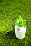 Pressure garden pump Royalty Free Stock Photo
