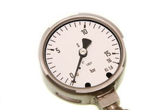 Pressure gauge Stock Photos