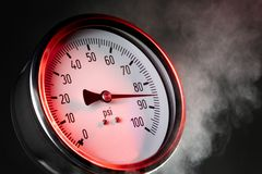 Pressure gauge Royalty Free Stock Photos