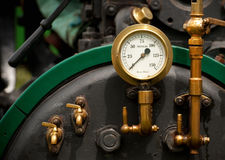 Pressure gauge Stock Photo