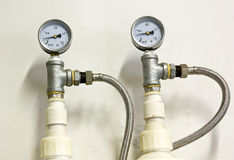 Pressure gauge 2 Stock Photography
