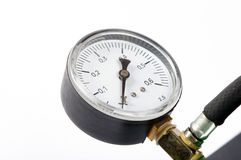 Pressure gauge royalty free stock photography