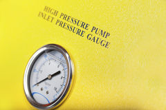 Pressure gauge Royalty Free Stock Photos