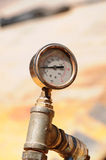 Pressure gauge Royalty Free Stock Photo