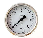 Pressure gauge Royalty Free Stock Image