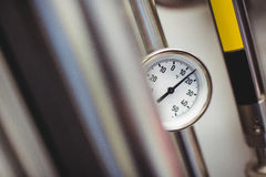 Pressure gauge in brewery Stock Images