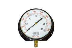 Pressure gauge indicator Stock Images