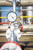 Pressure gauge measuring instrument Stock Photography