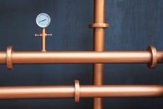 Pressure gauge meter Royalty Free Stock Image