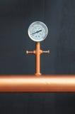 Pressure gauge meter Royalty Free Stock Photo