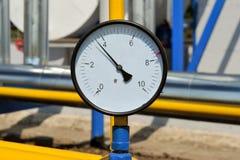 Pressure gauge Royalty Free Stock Images