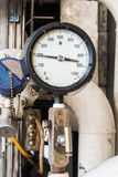 Pressure gauge Stock Images