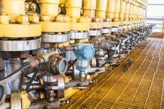 Pressure gauge Stock Photography