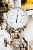 Pressure gauge Royalty Free Stock Photo