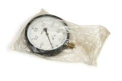 Pressure gauge package. Royalty Free Stock Photo