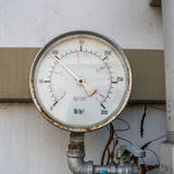 Pressure gauge. Royalty Free Stock Image
