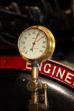 Pressure gauge (retro) Stock Images