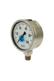 Pressure Gauge At Zero Stock Photography