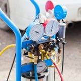 Pressure gauges Royalty Free Stock Images