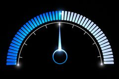 Pressure gauges temperature speed performance Stock Photos