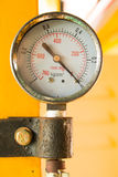 PRESSURE GUAGE Stock Photography