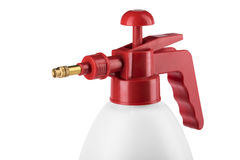 Pressure Hand garden sprayer for plants Royalty Free Stock Photo