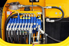 Pressure hoses Stock Images