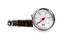 Pressure Instrument Stock Photo