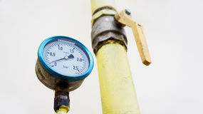 Pressure manometer Royalty Free Stock Photos