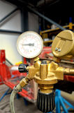 Pressure gauge tools Royalty Free Stock Images