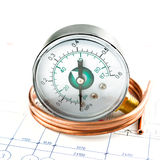 Pressure measure tools Stock Image