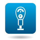 Pressure measurement icon, simple style Royalty Free Stock Photography