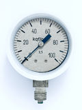 Pressure measuring Stock Photography