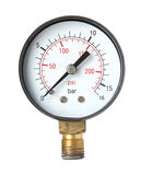Pressure measuring instrument. Stock Images