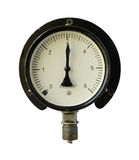 Pressure measuring instrument. Royalty Free Stock Photo
