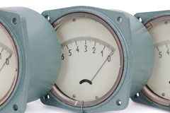 Pressure meter Stock Photography
