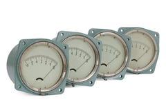 Pressure meter Stock Photos