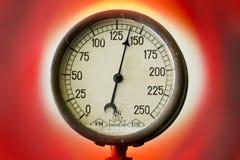 Pressure meter Stock Images