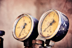 Pressure meter Stock Photos