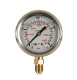 Pressure meter gauge Royalty Free Stock Photography
