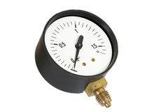 Pressure meter isolated (isolated) Royalty Free Stock Image