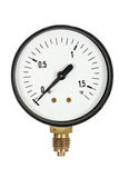Pressure meter isolated (isolated) Stock Photos