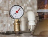 Pressure meter Royalty Free Stock Photos