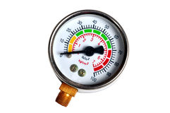 Pressure meters Stock Images