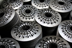 Pressure plate parts background Royalty Free Stock Photo