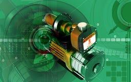 Pressure pump Royalty Free Stock Images
